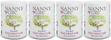 NANNYCare Stage 1 First Infant Milk - 400g (Pack of 4)
