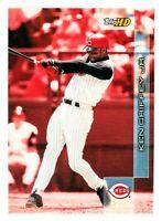 Ken Griffey Jr. #111 (2000 Topps HD) Baseball Card, Cincinnati Reds, HOF