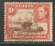 Kenya, Uganda & Tanzania #69a (A14) FVF USED - 1941 10c Lake Naivasha