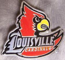 NCAA Pewter Belt Buckle University of Louisville Cardinals NEW