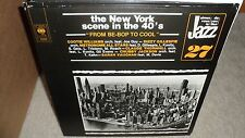 """NEW YORK SCENE IN THE 40'S    """"from be-bop to cool"""" ( jazz ) - holland -"""