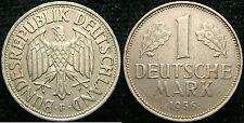 1956 Germany  1 Mark  F