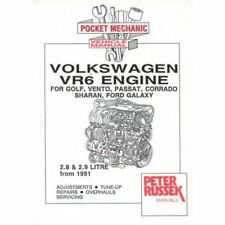 Volkswagen VR6 Engine manual, 2.8 / 2.9 engines 1991 on