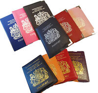 Passport Cover Travel Case Holder Wallet ID Document Protection Organizer UK New