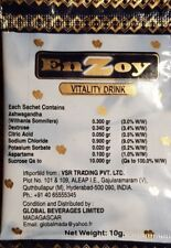 EnZoy Vitality Drink 5 sachets de 10 gr  Péremption 07/2020