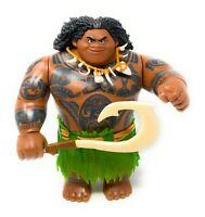 "Hasbro Disney Moana Maui Mega Action Figure Doll 10"" With Hook 2015"