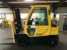 Hyster Model 50 Fortis Cab 5,000 lb Pneumatic Tires. Low Hours