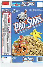 1991 Pro Stars Cereal Box Flat, Wayne Gretzky, Jordan, & Bo Jackson Mini-Poster