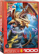 DRAGON CLAN 1000 Piece Jigsaw Puzzle, Anne Stokes