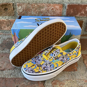 Vans x the Simpsons Authentic Era ITCHY SCRATCHY Shoes Sneakers Wmn Sz 5 NEW