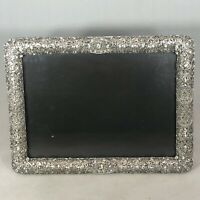 Tizo Enamel Jeweled Steel Picture Frame Fits 5x7 Inch Photo