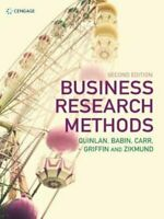 Business Research Methods by Christina Quinlan 9781473760356 | Brand New