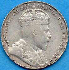 Canada 1907 50 Cents Fifty Cents Silver Coin - F/VF
