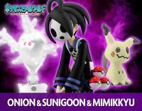BANDAI pokemon Scale World Garal Onion & Cursola&Mimikyu Tracking#
