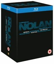 ** THE CHRISTOPHER NOLAN DIRECTOR'S COLLECTION - 9-DISC BLU RAY BOX SET ***