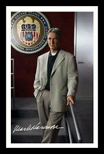 MARK HARMON - NCIS AUTOGRAPHED SIGNED & FRAMED PP POSTER PHOTO