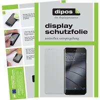 2x Gigaset ME Pro Schutzfolie matt Displayschutzfolie Folie dipos Displayfolie