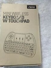 Mini Wireless Keyboard Touchpad Air Mouse Remote for Android TV Box,Windows,PC