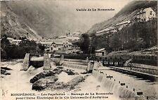CPA   Vallée de.. Rioupéroux - Les Papeteries - Barrage de La Romanche  (434915)