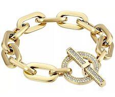 Michael Kors City Scape Heavy Link Chain Pave Toggle Bracelet MKJ4586710 $145