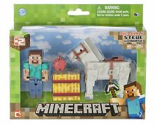 NEW!! Minecraft Steve with Horse For ages 6+ years FREE UK DELIVERY!!