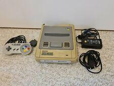 !!! Original Super Nintendo Entertainment System SNES Konsole Grau !!!