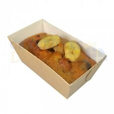 1350 x DISPOSABLE LOAF MOULD 80x40x40mm NEXT DAY DELIVERY * ORDERED B4 1PM
