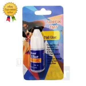 NAIL GLUE 3g gram tips super strong false adhesive for long wear