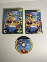 The Simpsons: Hit & Run (Microsoft Xbox, 2003) Complete with reg Card intact