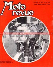MOTO REVUE 1903 KAWASAKI 650 W2 SS W 2 ; MUNCH Mammuch 1200 André Pogolotti 1968