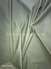 5//6oz* 155cm P.U Coated Waterproof Microfibre Fabric Dark Green