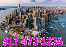 917 area Easy Phone Number 917-Xyz-1234 New York city, Unique! Vanity Sim card