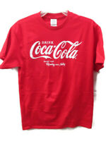 Coca-Cola Red Tee T-shirt Size 2XL 2X-Large Drink Coca-Cola Refreshing Feeling