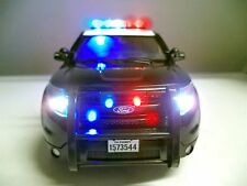 POLICE 1/18 California Highway Patrol FORD EXPLORER SUV PI CHP WORKING LIGHTS Ut