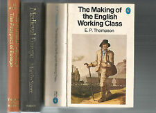 MEDIEVAL EUROPE by Scott 15th CENTURY by Aston + MAKING OF ENGLISH WORKING CLASS