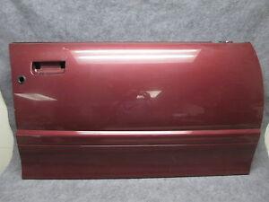 1993-1995 Saturn S Series Wagon SW RH Front Exterior Door Panel Skin Red 21636