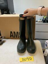Hunter Women's Original Classic Tall Rain Boots - Ladies Rubber Boot Green