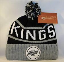 Eishockey MITCHELL & NESS Los Angeles Kings Snapback Wool Solid Kappe NZ980 Weitere Wintersportarten