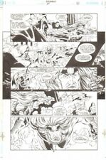 Aquaman #64 p 9 - All Aquaman and Crew - 2000 art by Steve Epting Comic Art