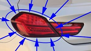 BMW F12 F13 F06 6-SERIES LEFT OUTER TAILLIGHT REAR LAMP 640I 650I M6 NEW GENUINE
