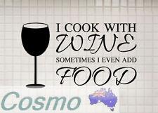 Kitchen Food & Wine Wall Stickers