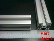 "Aluminum T-slot 3030 extruded profile 30x30-8 Length 500mm (<20""), 4 pieces set"