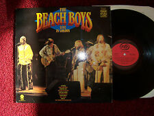 The Beach Boys - Live in London         UK  mfp LP