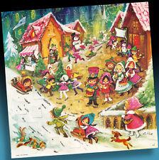 Vecchio Calendario Avvento Rare Korsch Uscita 459 il Natale Bambini