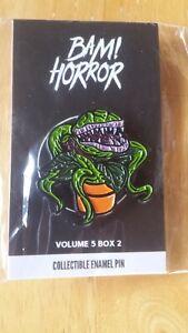 Little Shop of Horrors Bam Box Exclusive Fan Art Enamel Pin - Volume 5 Box 2