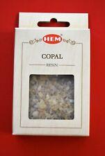 Boite de 30 grs d'encens en résine COPAL de la marque HEM
