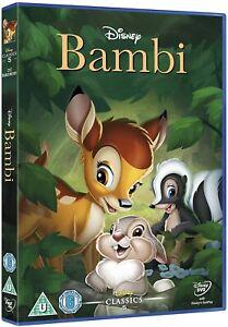 BAMBI - DISNEY - NEW & SEALED -  BLU-RAY - 5