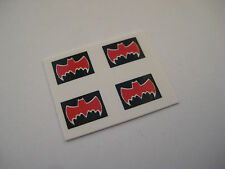 Corgi Juniors 69/1003  Batmobile & Batboat [ Hot Wheels Style ] Stickers - B2G1F