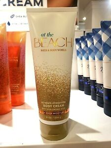 Bath and Body Works  AT THE BEACH Ultimate Hydration Body Cream 8 oz /226 g NEW