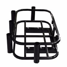 Hitch Mount Cooler / Fishing Rod Holder Rack For Golf Carts, Atv or Utv